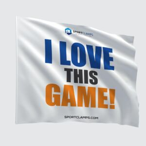 I love this game flag