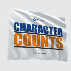 Character Counts Flag