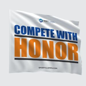 Compete with Honor Flag