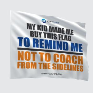 Coach from Sidelines Flag