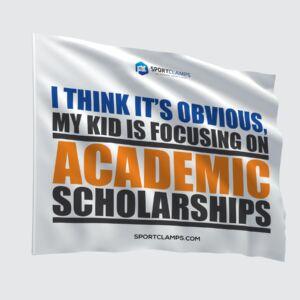 Academic Scholarships Flag