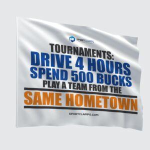 Drive 4 hours flag