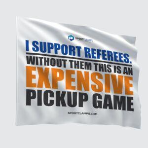Expensive Pickup Game Flag