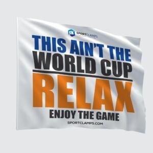 Ain't the world cup flag